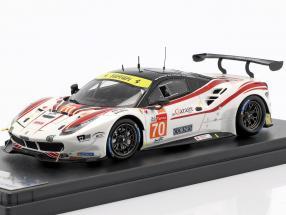 Ferrari 488 GTE #70 24h LeMans 2018 Beretta, Cheever III, Ishikawa 1:43 LookSmart