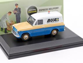 Ford Anglia Van British United Airways blau / creme gelb / weiß 1:43 Oxford