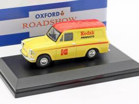 Ford Anglia Van Kodak gelb / rot 1:43 Oxford
