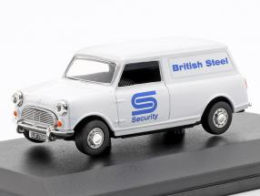 Austin Minivan British Steel Security weiß / blau 1:43 Oxford