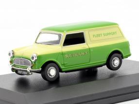 Austin Minivan Southdown Fleet Support green / yellow 1:43 Oxford