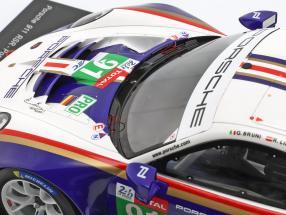 Porsche 911 (991) GT3 RSR #91 2nd LMGTE Pro 24h LeMans 2018 1:18 Spark 2. Wahl