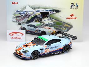 Aston Martin V8 Vantage #98 24h LeMans 2015 Dalla Lana, Lamy, Lauda 1:18 Spark 2. Wahl