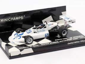 G. Villeneuve March Ford 76B #69 Winner Formel Atlantik Motorsport Park 1976 1:43 Minichamps
