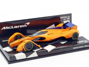 McLaren MP-X2 Concept Car Formel 1 2018 1:43 Minichamps