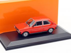 Volkswagen VW Polo year 1979 red 1:43 Minichamps