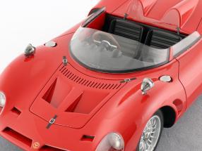 Bizzarrini P538 Spyder Press Version 1965 corsa rot 1:18 Tecnomodel 2. Wahl