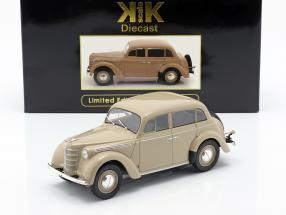 Opel Kadett K38 year 1938 tan 1:18 KK-Scale
