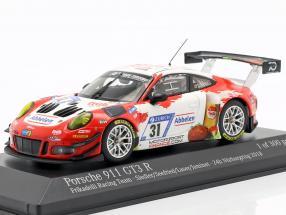 Porsche 911 (991) GT3 R #31 24h Nürburgring 2018 Frikadelli Racing 1:43 Minichamps