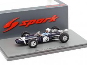 Jo Bonnier Brabham BT7 #12 monaco GP formula 1 1965 1:43 Spark