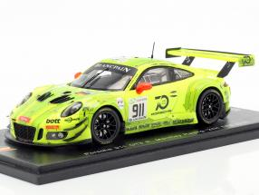 Porsche 911 (991) GT3 R #911 24h Spa 2018 Manthey Grello 1:43 Spark