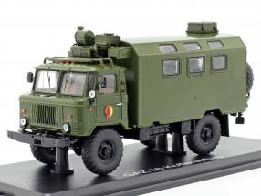 GAZ 66 Kofferaufbau NVA truck military vehicle dark olive 1:43 Premium ClassiXXs