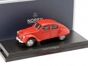 Citroen 2CV Dagonet year 1956 red 1:43 Norev