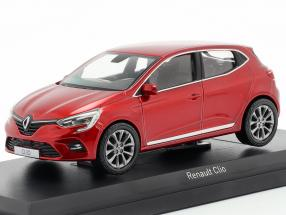 Renault Clio year 2019 flame red 1:43 Norev