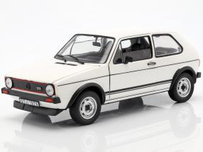 Volkswagen VW Golf I GTi year 1976 white 1:18 Norev