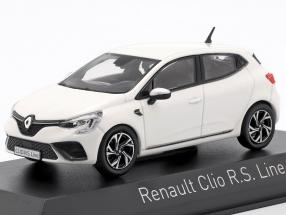 Renault Clio R.S. Line year 2019 pearl white 1:43 Norev
