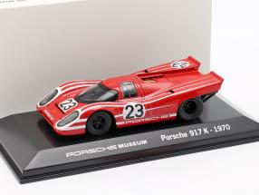 Porsche 917 K #23 Winner 24h LeMans 1970 Porsche KG Salzburg 1:43 Welly