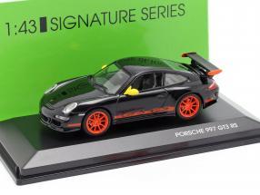 Porsche 911 (997) GT3 RS Year 2007 black / orange 1:43 Lucky Diecast