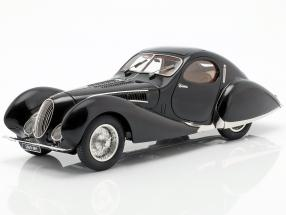 Talbot Lago T150 C-SS Teardrop year 1937-1939 with figure and Showcase 1:18 CMC