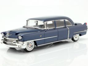 Cadillac Fleetwood Series 75 year 1956 blue metallic 1:18 GLM