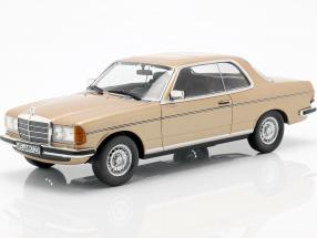 Mercedes-Benz 280 CE C123 Coupe Year 1980 gold metallic 1:18 Norev