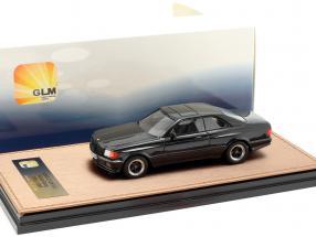 Mercedes-Benz AMG C126 6.0 Wide Body year 1984-1985 black 1:43 GLM