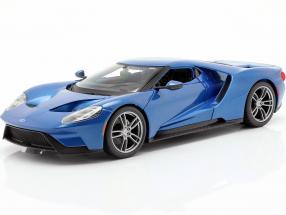 Ford GT year 2017 blue metallic 1:18 Maisto