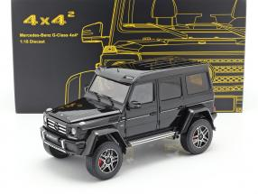 Mercedes-Benz G-Class 4x4² obsidian black 1:18 Almost Real