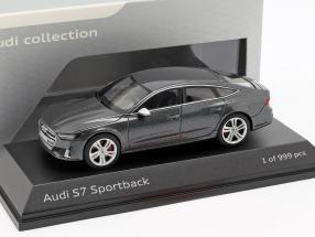 Audi S7 Sportback daytona gray 1:43 Jaditoys