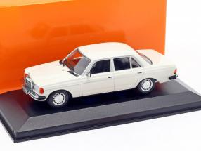 Mercedes-Benz 230E (W123) year 1982 white 1:43 Minichamps