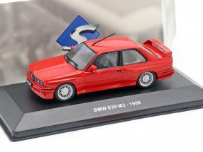 BMW M3 (E30) Baujahr 1988 rot 1:43 Solido