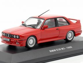 BMW M3 (E30) year 1988 red 1:43 Solido