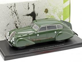 Adler Diplomat Stromlinie Autenrieth year 1938 dark green 1:43 AutoCult