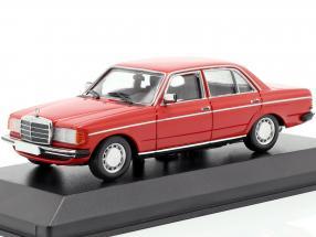 Mercedes-Benz 230E (W123) year 1982 red 1:43 Minichamps