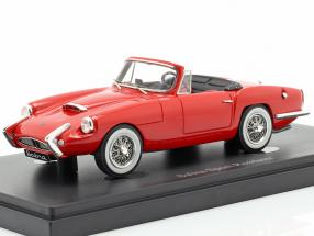 Sabra Sport Roadster year 1962 red 1:43 AutoCult