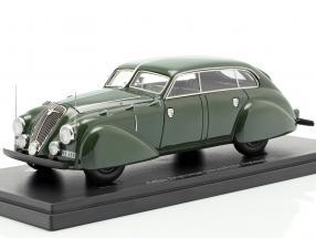 Adler Diplomat Stromlinie Autenrieth Baujahr 1938 dunkelgrün 1:43 AutoCult