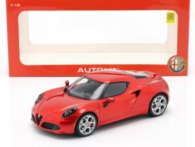 Alfa Romeo 4C Baujahr 2013 rot 1:18 AUTOart