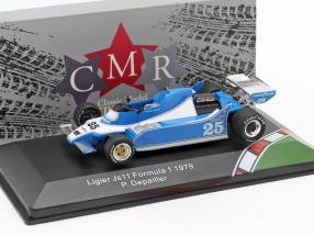 Patrick Depailler Ligier JS11 #25 formula 1 1979 1:43 CMR