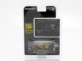 Mario Andretti 50th Anniversary Indy 500 champion 1969 Dallara Universal Aero Kit 1:64 Greenlight