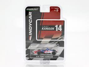 Tony Kanaan Chevrolet #14 Indycar Series 2019 AJ Foyt Enterprises 1:64 Greenlight