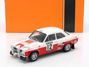 Ford Escort RS 1600 Mk1 #12 4th RAC Rallye 1971 Mikkola, Palm 1:18 Ixo