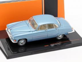 Jaguar Mark X Baujahr 1961 blau metallic 1:43 Ixo