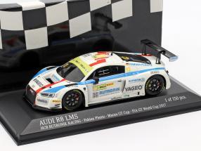 Audi R8 LMS #12 FIA GT World Cup Macau 2017 Fabian Plentz 1:43 Minichamps