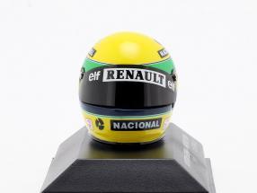 Ayrton Senna McLaren MP4/4 San Marino GP formula 1 1994 helmet 1:8 Minichamps