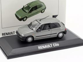 Renault Clio year 1990 grey metallic 1:43 Norev