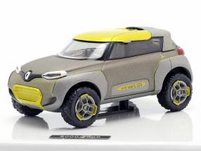 Renault Kwid Concept Car 2015 grey metallic / yellow 1:43 Norev