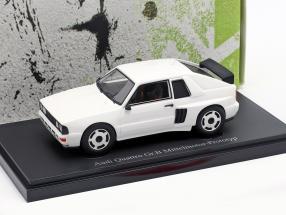 Audi Quattro Gr. B Mid-engine prototype 1985 White 1:43 AutoCult