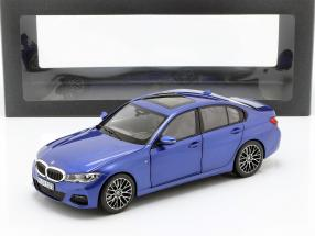 BMW 3 Series Limousine (G20) year 2019 portimao blue 1:18 norev
