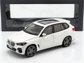 BMW X5 (G05) year 2018 alpine white 1:18 Norev