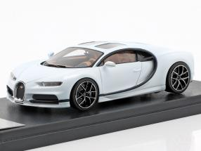 Bugatti Chiron Sky View Pebble Beach Version 2018 glacier white 1:43 LookSmart